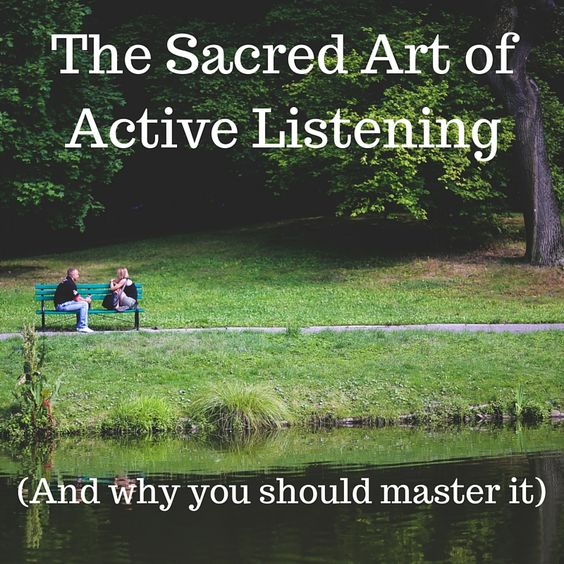 Listening can transform your relationships. Here's why.